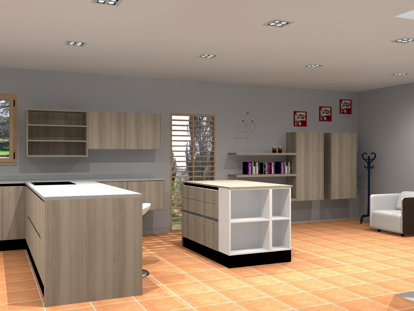 Diseño de muebles de cocinas Gines Sevilla - Cocinas decor&stylo